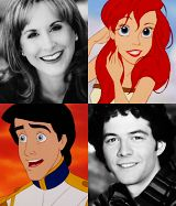 I had no idea that the guy who plays Greg Brady in the Brady Bunch movies was the voice of Prince Eric. Mind. Blown.