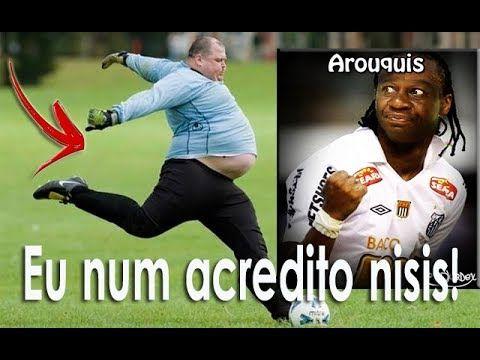Lances de futebol mais engraçados! Acerto! Show de risos