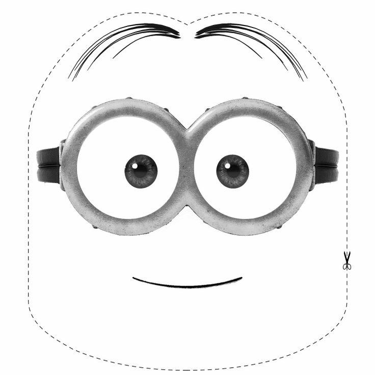 Máscaras para imprimir y colorear / Máscaras para imprimir e colorir / Printable masks