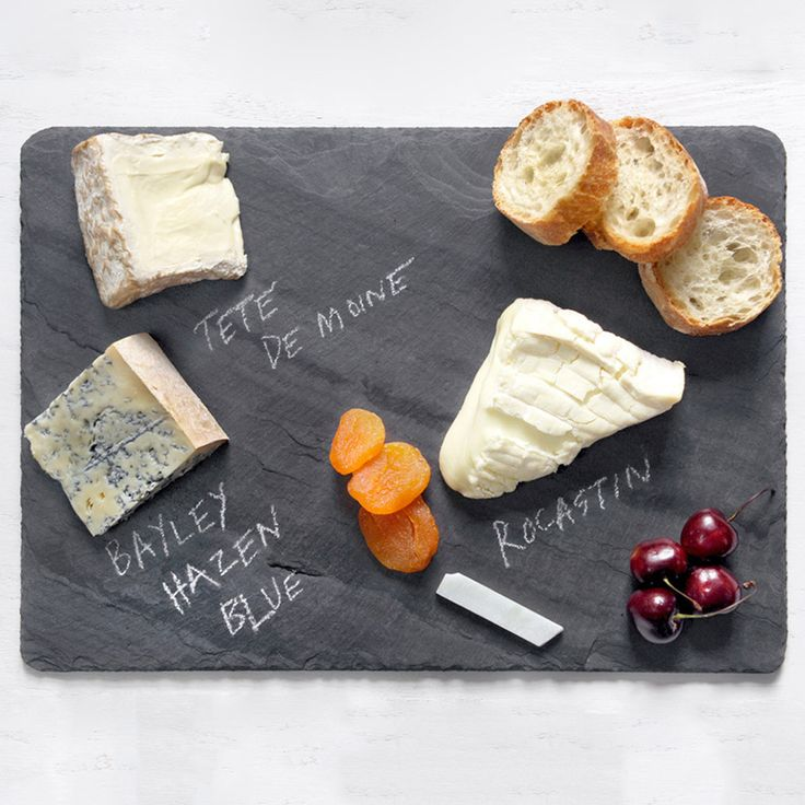Love this Slate Cheese Board 10x14 Black : Great Hostess Gift