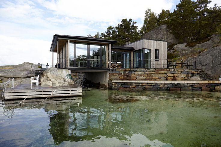 Hytte Jonsøya Arkitekt: Janicke Jebsen Vinje