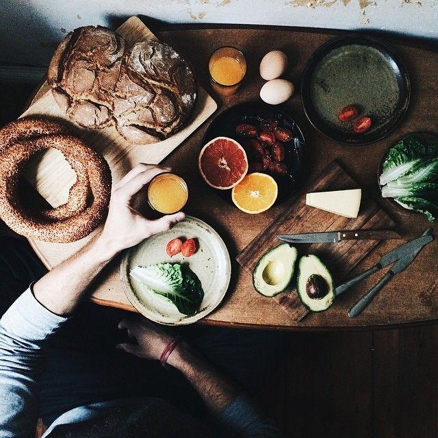 weekend breakfast.