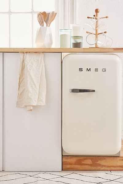 Smeg Mini Refrigerator - Urban Outfitters                                                                                                                                                                                 More