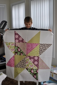 """Extra large Quilt block (Pinterest wouldn't let me repin due to """"questionalbe site""""."""