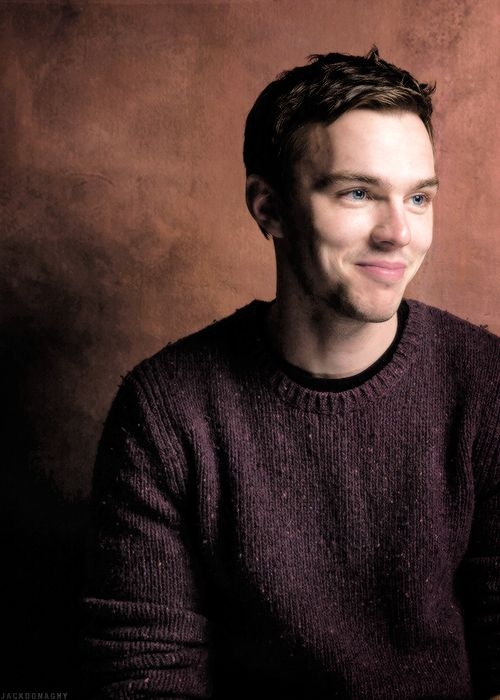 Nicholas Hoult. Yes, I have a weakness for the cheekboney pasty white English dude type.