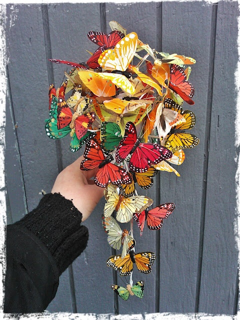 a butterfly bouquet...i dont have an obsession or anything..