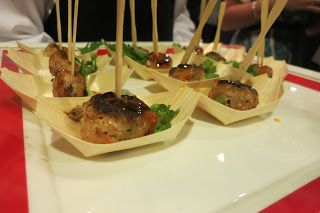 Asian Chicken balls I Made by Me - Our Engagement Party