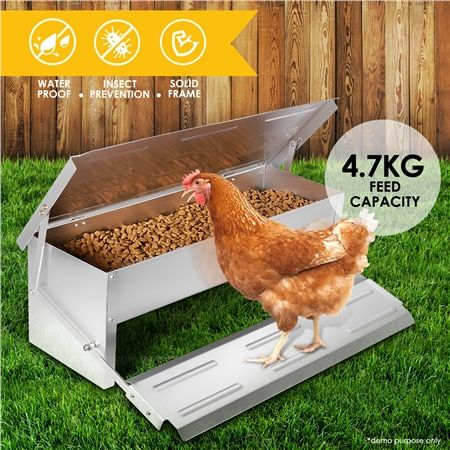Buy it here with discounts >>> https://goo.gl/4RgNA2 Aluminum - DIY Durable Rustproof Aluminum Auto Chicken Feeder - Protect your chicken feed and feed them automatically with the Automatic Chicken Feeder.