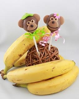 Monkey Cake Pops