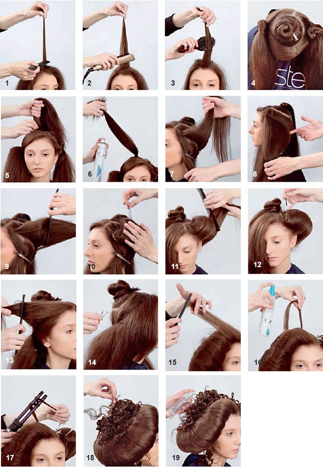 Collection of step-by-steps for any hair length.