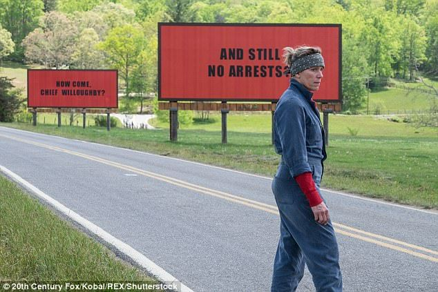 Three Billboards wins three London Film Critics awards  It received a jaw-dropping seven Oscar nominations last week.  And Sunday night seemed to predict more success for Three BillboardsOutside Ebbing Missouri when the film swept theLondon Film Critics Circle Awards 2018.  Winning a trio of awards the crime drama was closely followed by family film Paddington 2 which won two awards  including Best Supporting Actor for Hugh Grants role in the sequel.  Scroll down for video  Success! Three…