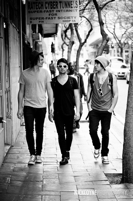 """photo of cape town band """"New Mustangs"""" shot by Nick Coyne. no clue who they are but like the photo"""