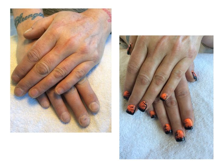 Nail by Ann. Done at Tangles Hair Studio and Day Spa Red Deer Alberta. 403-342-4222 www.nailsbyanneducation.com