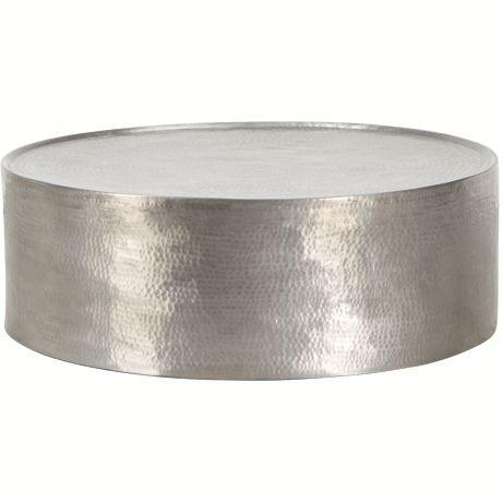 metal drum coffee table freedom rrp 679