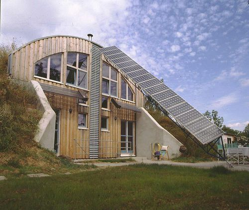 Berm Home: 28 Best Images About Homes: Earth Sheltered On Pinterest