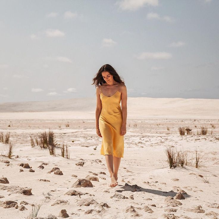 Silk Laundry slip dress in yellow   See Instagram photos and videos from Style & Travel - Jenelle Witty (@inspiringwit)
