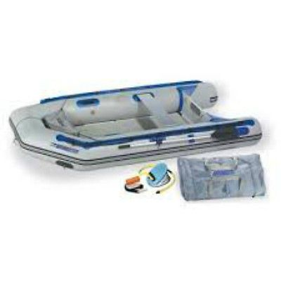 Sea Eagle 10 ft 6 in. Sport Runabout Boat Rigid Inflatable Keel Raft Pump River