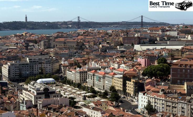 Hoje encontramos Lisboa assim... Linda e ensolarada!