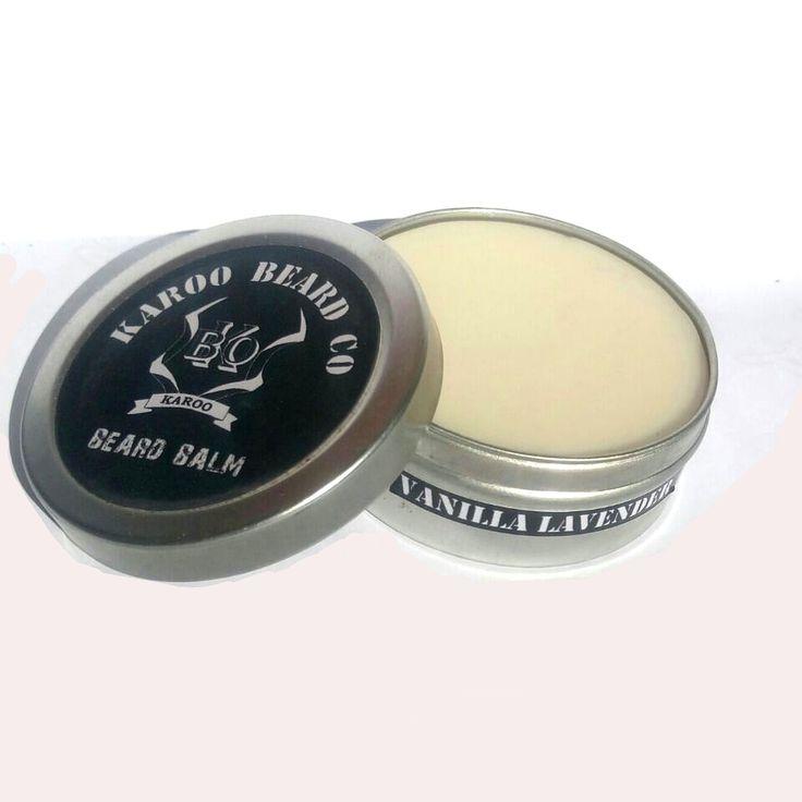 OUR NEW !!!  Vanilla Lavender BEARD BALM