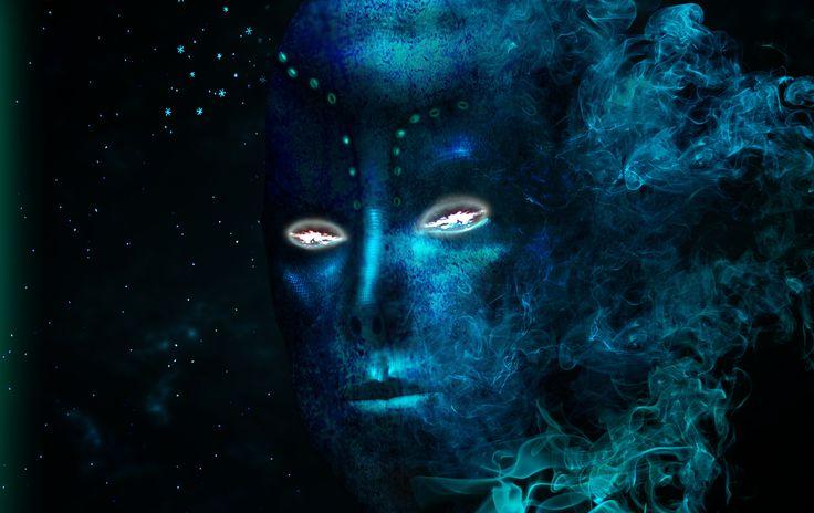 Fading in blue
