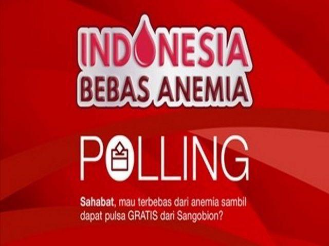 Survey Indonesia Bebas Anemia Berhadiah Pulsa GRATIS - Hai sobat Mister Kuis, kali ini ada survey berhadiah pulsa dari Sangobion. Peserta hanya boleh