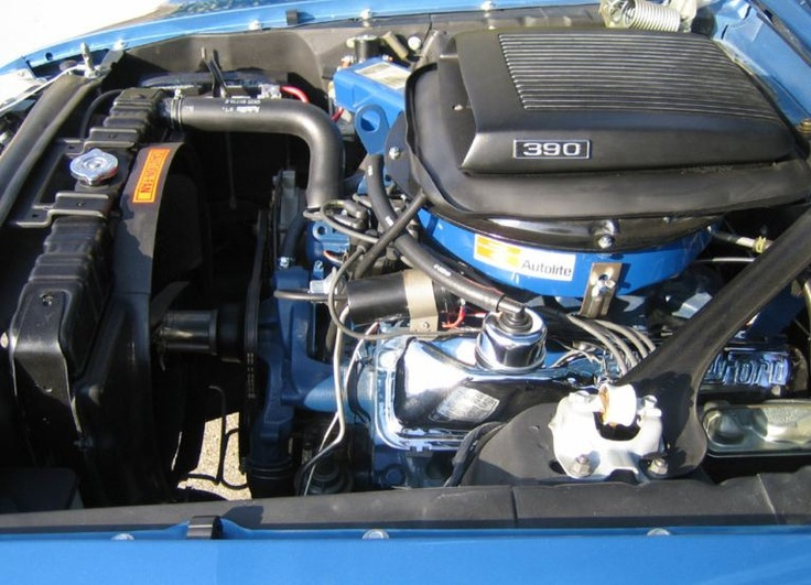 1969 390 Big Block Mach 1 with shaker Ram Air Ford
