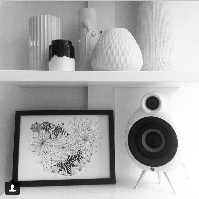 MicroPod on shelf with nice design