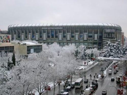 Snow, Estadio Santiago Bernabéu