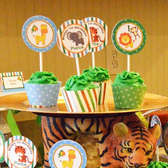 17 Best Images About Jungle, Safari, Zoo Animal Party Or