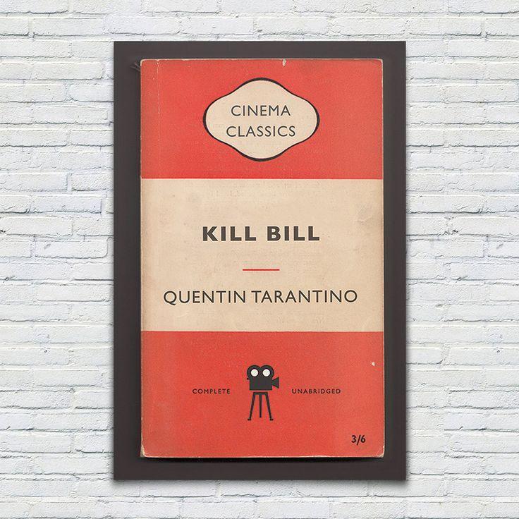 Penguin Books Classics Movie Poster Kill by EncoreDesignStudios
