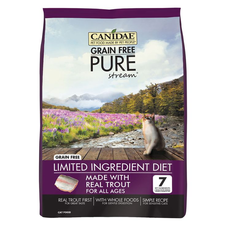 Canidae pure cat food limited ingredient diet natural