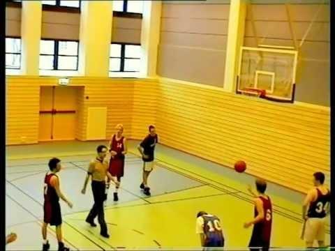 Junior game backwards free throw