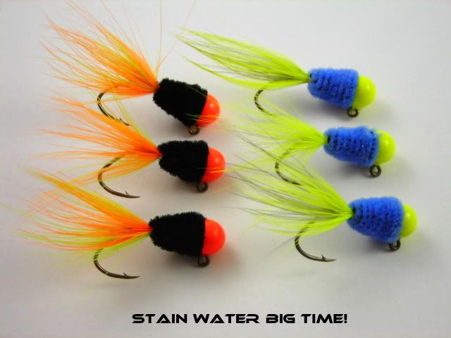Stain Water Crappie Jigs! 08/20/09