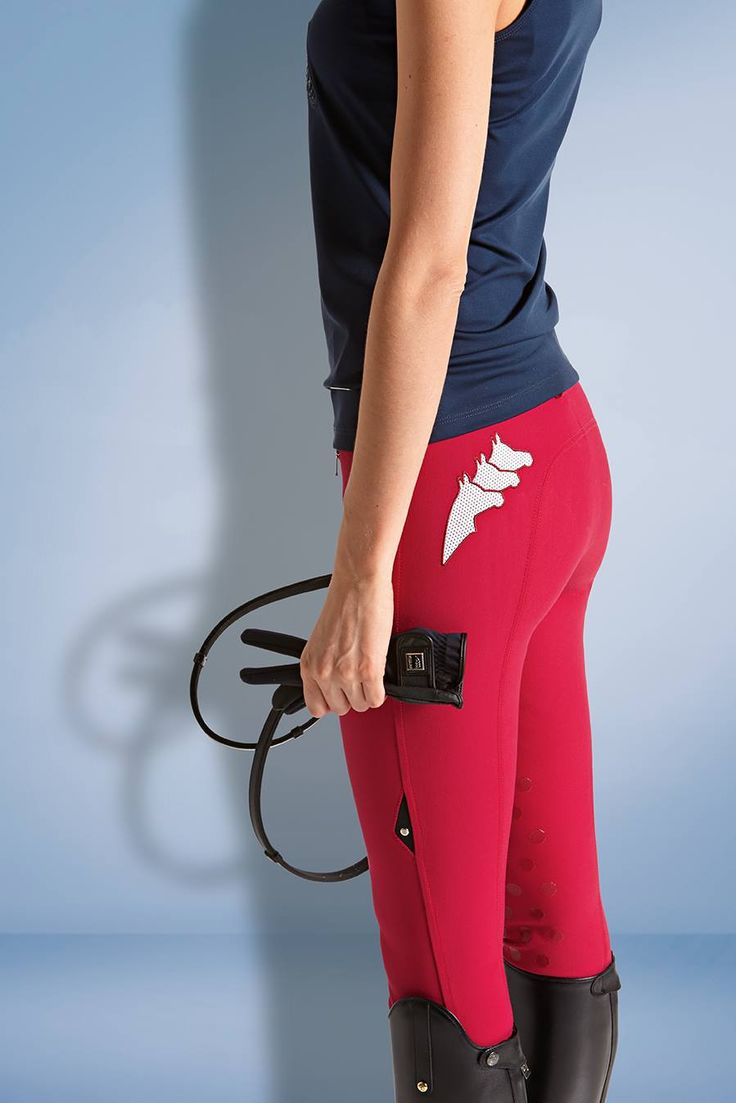 Equiline red breeches 2014