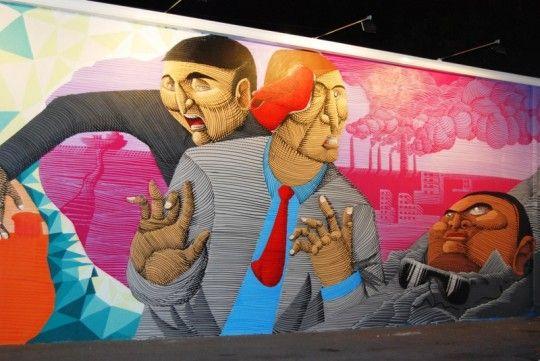 DSC 0472 540x361 NUNCA   A Controversial graffiti artist.
