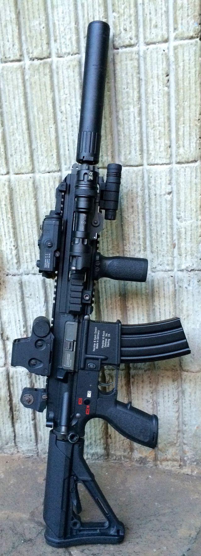 HK 416 DEVGRU AAC SPR SILENCER ...Hellllllo gorgeous!