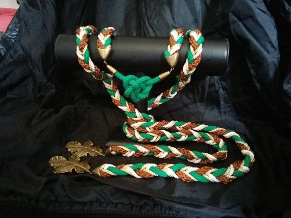 Custom split handfasting cord with a Celtic love knot  at https://www.etsy.com/listing/190682443/custom-split-handfasting-cord-featuring