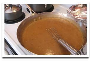 ... homemade turkey gravy. This basic turkey gravy recipe can be used for