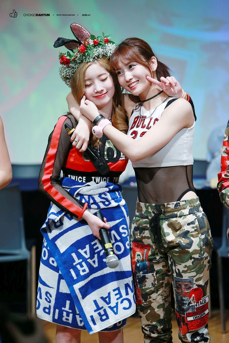 Dahyun and Momo