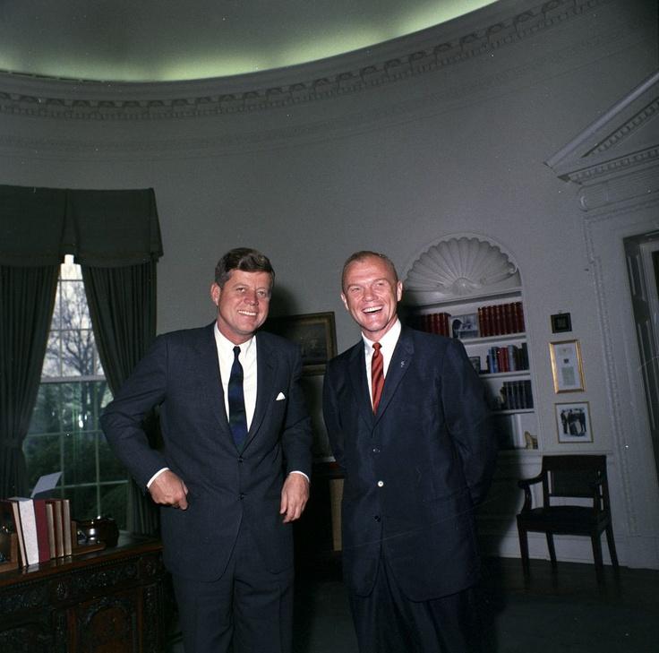 JFK & JOHN GLENN