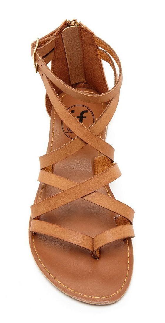 I have been wanting a good pair of brown sandals for summer! These are perfect!