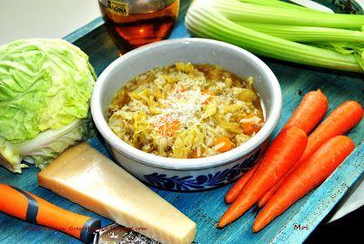 R'n'G Kitchen: Minestra di cavolo e riso