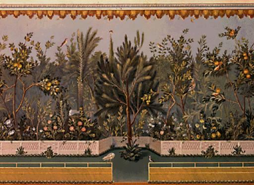 A casa de Livia Aquí pódense visitar as habitacións privadas de Livia, muller do emperador Augusto. Estas estancias forman parte dun complexo máis grande que incluía tamén as do seu marido. Aínda se conservan as fermosas decoracións de muros e pavimentos. Algúns dos frescos que decoraban as paredes están no museo palatino.