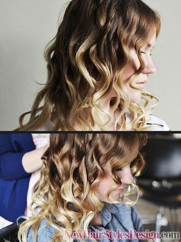 How to make Curl Hair with flat iron?.. Love this technique better than a real curling iron.