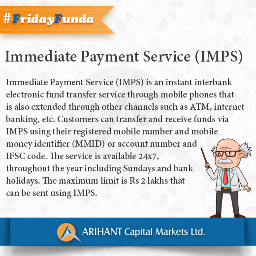 #FridayFunda #ImmediatePaymentService (IMPS)