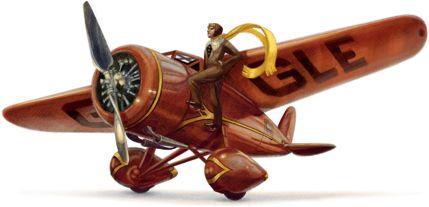 Sencillo y a la vez bonito homenaje para el 115 Aniversario del nacimiento de Amelia Earhart