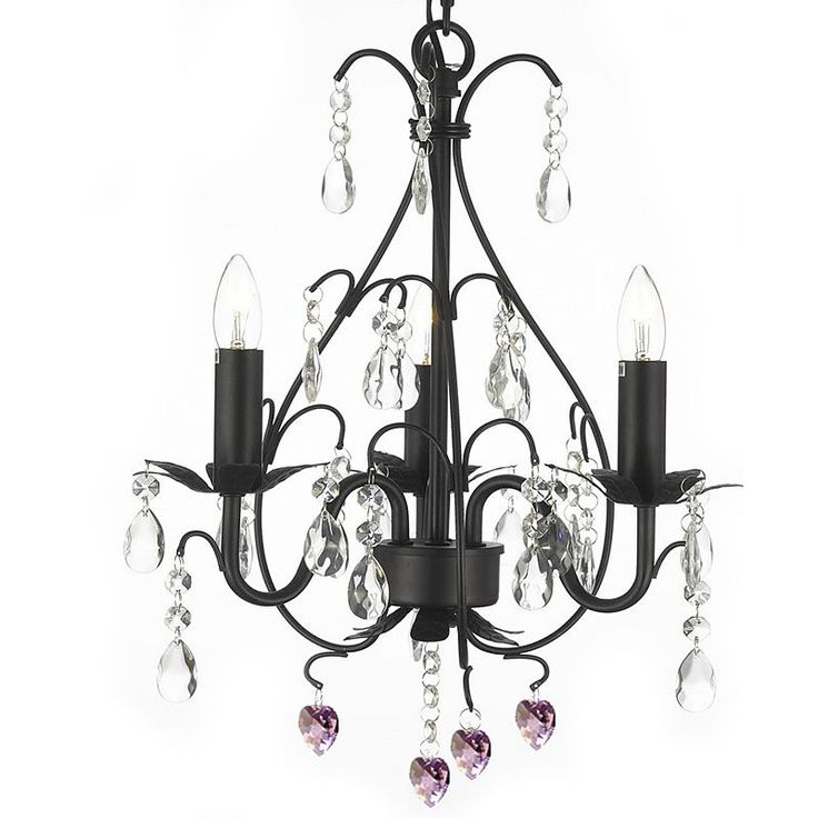 This Beautiful Chandelier From The Versailles Collection Has 3 Lights And Is Decorated D With