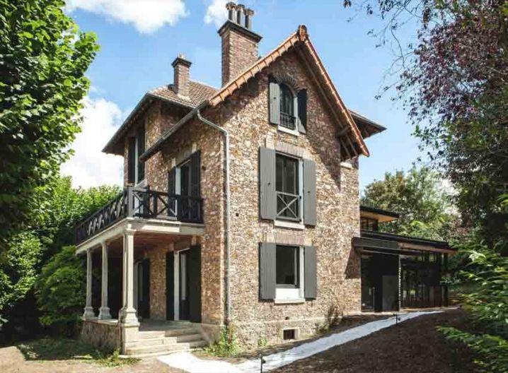 Extension Moderne Sur Une Maison Ancienne Dans Les Hauts De Seine Maison Traditionnelle Extention Maison Maison
