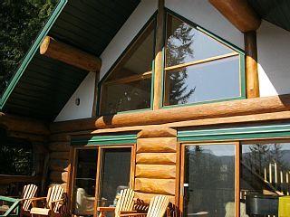 Family Log Cabin w Spectacular Views Of Beautiful Shuswap Lake-Beach,Golf,HotTubVacation Rental in Shuswap Lake from @homeaway! #vacation #rental #travel #homeaway