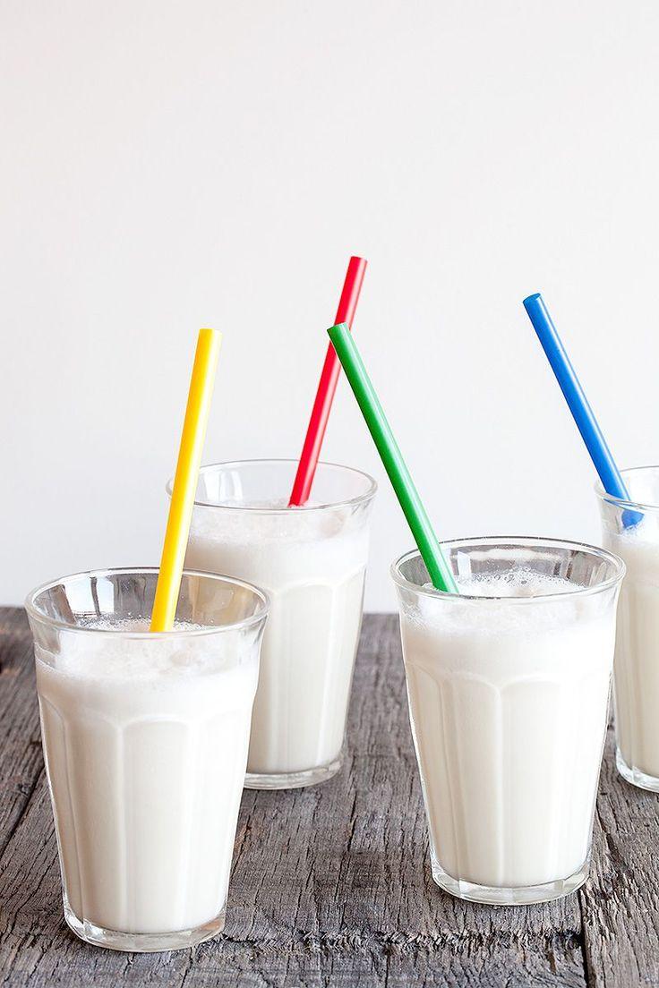 Klassieke vanille milkshake